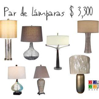 Par de lámparas